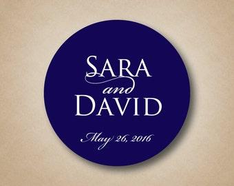 Wedding Favor Stickers Wedding Labels Favor Tags Custom Wedding Favor Label Personalized Favor Stickers Round Wedding Stickers Favor Box