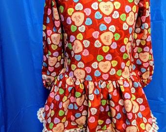 Girl's Valentine Dress