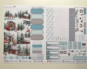Winters Forest: MINI Happy Planner