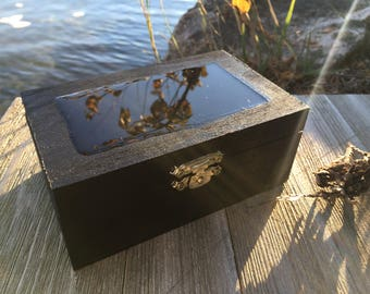 Magic Mood Crystal Storage Box - Colour Changing Lid