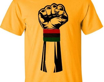 Black Power Fist  African American t-shirts