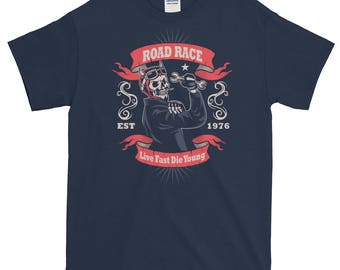 Men and Women Road Race Short-Sleeve T-Shirt