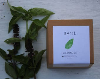Indoor herb garden, herb seeds, gift for mom, garden gift box, herb growing kit, beginner gardener, herb seed starting kit gift for men