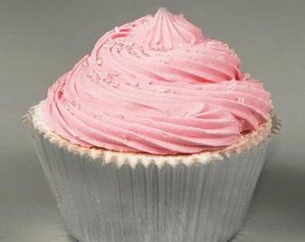 Strawberry Cupcake Bath Bomb