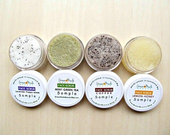 Face scrub samples/ Sample kit