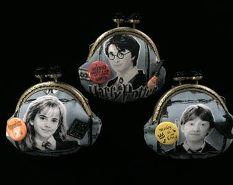 Harry Potter, Hermione Granger, Ron Weasley, Team Gryffindor, Coin Purse