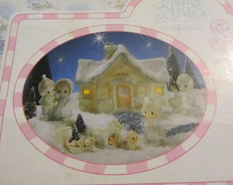 VINTAGE Precious Moments Sugar Town-Doctor's Office 6-Pc Collector's Set