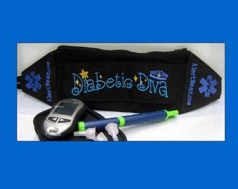 Custom Diabetic Medicine Pack / Case by Alert Wear