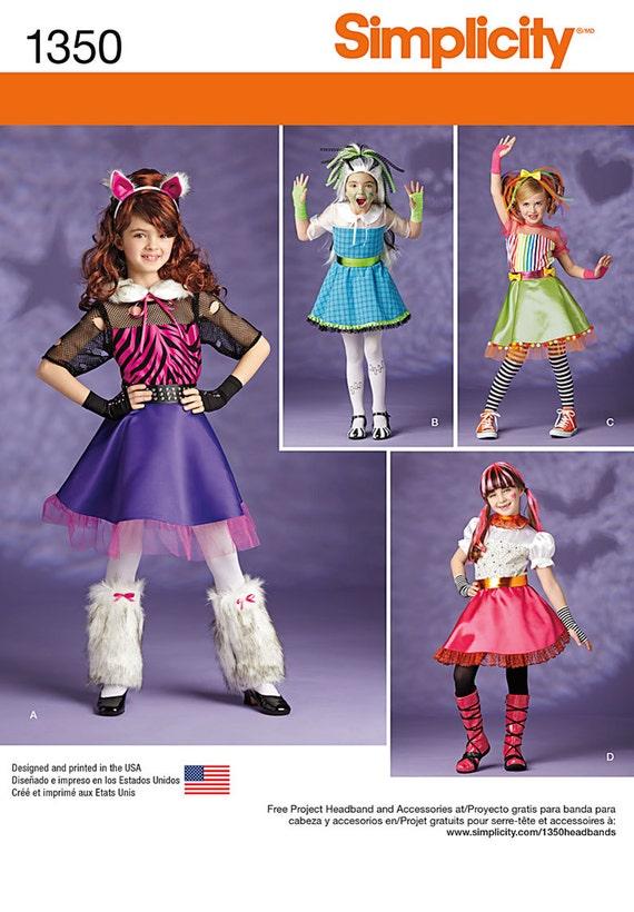 GIRLS COSTUME PATTERN / Make Monster High Equestria