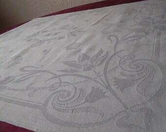 Beautiful super bright damask monogrammed towel