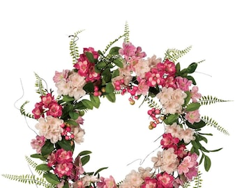 "Cherry Blossom Wreath 22"""