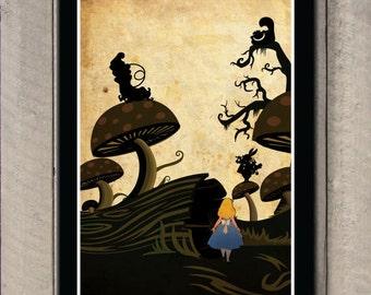 Disney movie poster - Alice in Wonderland