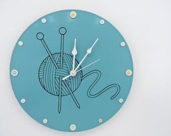 Kitting Wall Clock
