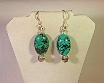 Bisbee Turquoise Earrings # 984