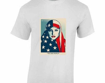 We The People Womens March T-Shirt