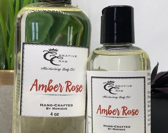 Amber Rose Body oil, Hair Oil