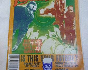 Psychotronic Magazine #41, Last Issue of this Great Magazine! Published in 2004, Fine Condition 7.0(F/VF).  Fantastic Pop Culture Articles!
