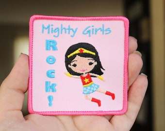 Mighty Girls Rock Patch