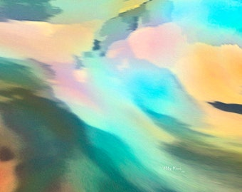 Abstract Art, Digital Creation, Limited Edition Print