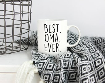 Best Oma Ever, Oma Mug, Oma Gifts, Gifts for Oma, Oma and Opa Gift, Oma Coffee Mug, Oma Coffee Cup, Oma Gift, Gift for Oma, Grandparent Mugs