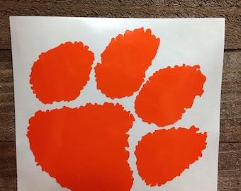 Clemson University Tigers Vinyl Decal