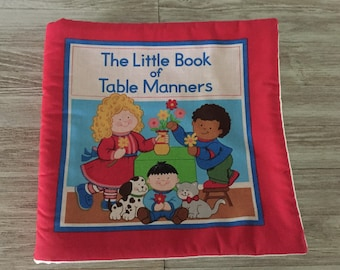 The Little Book of Table Manners Soft Storybook