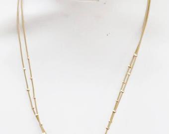 Natural Teal Druzy Station Leatherette Necklace