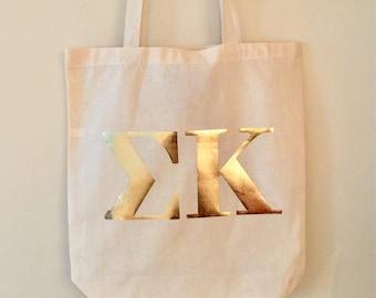 Sorority tote bag **FREE SHIPPING**
