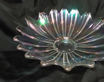 Vintage Large Carnival glass bowl