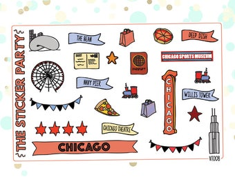 Chicago Planner Stickers