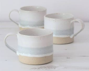 Made to order** handmade mug, coffee mug, mug, ceramic mug, pottery mug, tea mug, mugs, pottery, grey mug, handmade gift, ceramic, mug