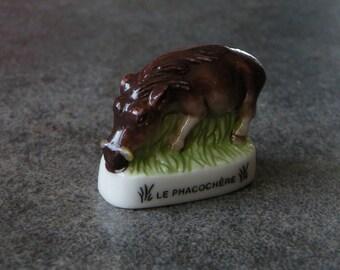 Ceramic - warthog collection bean