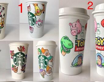 ONE mini characters  Starbucks Cup