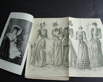 Victorian –March, 1892 Peterson's Magazine. Ladies Fashions, Children's Fashions, Stories. RARE!