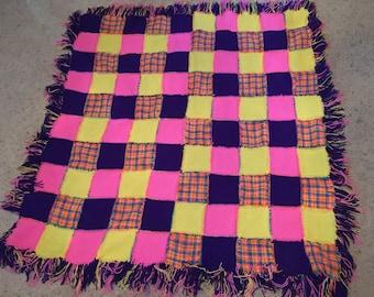 Pink/Purple Blanket