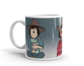 Carl Grimes, The Walking Dead, TWD Character Coffee Mug