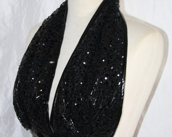 Halter-Top bikini top [leather lace]-onesize 34-40