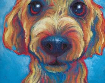9 in. X 12 in. Custom Pet Paintings