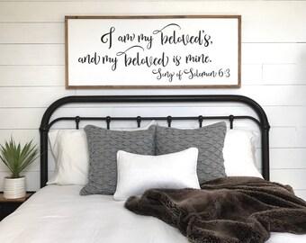 framed sign you will forever be my always bedroom wall rh etsy com diy master bedroom wall art master bedroom wall art ideas