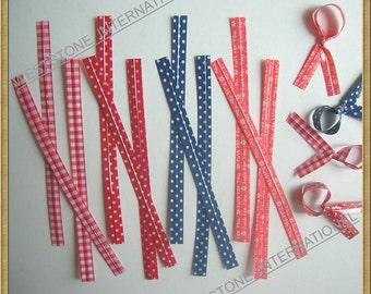 "120 pcs 4 3/4"" Plastic Seasonal Twist Ties - mixed colors"