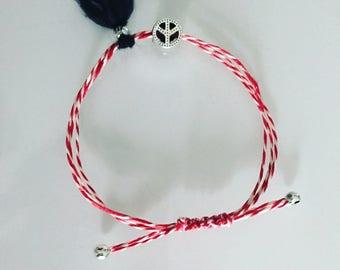 Martis Bracelet Red White