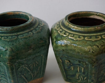Chinese Ginger Pots