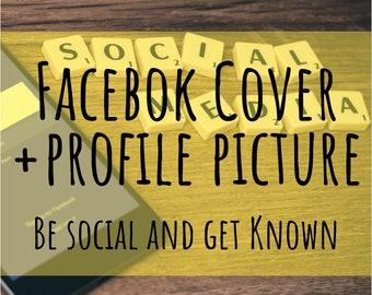 Facebook Cover and Profile Picture - Social Media Design, Facebook design