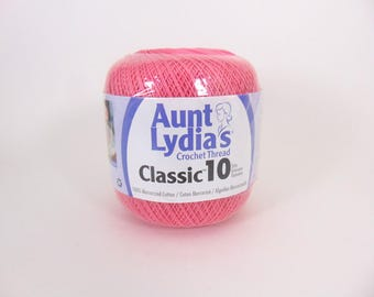 French Rose - Aunt Lydia's Crochet Cotton Classic Size 10