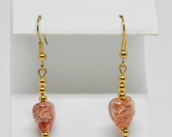 Simple but Lovely Heart shape Earrings