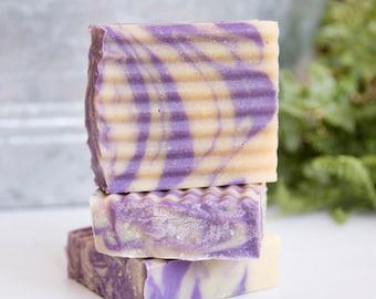 Handmade Goat's Milk Soap - Lavender