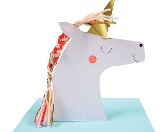 Meri Meri: Unicorn Birthday Card