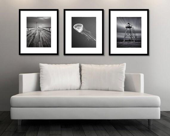 Set of 3 prints Set of 3 wall art Nautical Wall Art Set