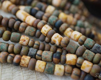 NEW Stock..Rustic Picasso Mix, Seed Beads, Seed Beads, Beads
