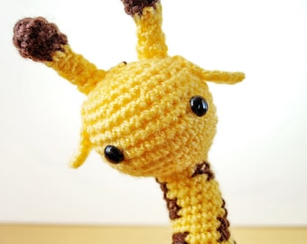 Gorgeous Crochet Giraffe Made To Order, Custom Made, Choose Any Colour